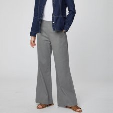 Camile Wide Leg High-Waisted Sailor Trousers