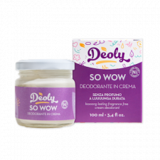 SO WOW cream deodorant long-lasting without fragrance