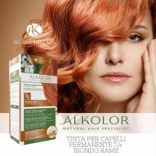 Permanent Hair Dye 7.4