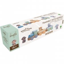 The Wildies Family Trainset with animals