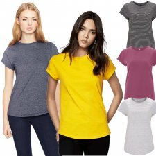 Women's roll-up sleeves in organic cotton