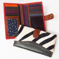 Soruka Smart Women Wallet in recovered leather