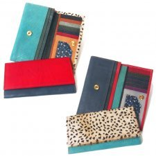 Soruka classic women wallet in recovered leather