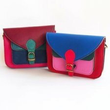 Soruka multicolor Pocket bag in recovered leather