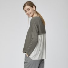 Isabel Sweater in Organic Cotton and Wool