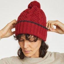 Jordun hat in wool and organic cotton
