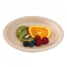 Compostable dessert plates