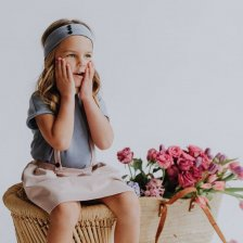 Hair band for girls in organic cotton
