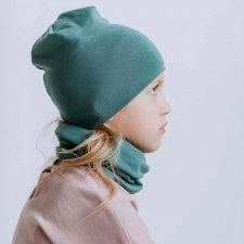 Multi-purpose hat for children in organic cotton