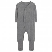 Baby Jumpsuit in bamboo - grey