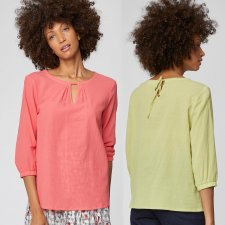 Eileen Blouse Organic Cotton Tops