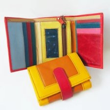 Fairtrade Easy wallet in recycled leather