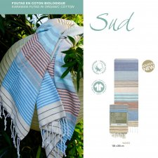 FOUTAS SUD WAVES in organic cotton