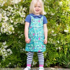 Park life set in organic cotton for baby girls