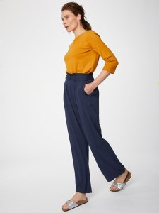 Anzola Belted Bamboo Trousers