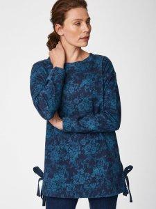 Lela Organic Cotton Floral Sweater