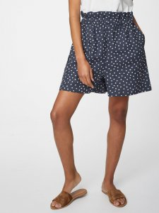 Miriam Hemp Wide Leg Spot Print Shorts