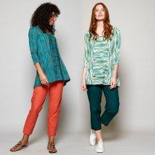 Panelled Organic Cotton Tunic