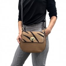 Soruka Rolling Bag in recovered fair trade leather
