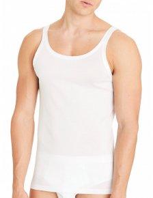 Man undershirt Vest Narrow Shoulder BioCotton in pure organic cotton