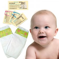 Beaming Baby Bio Degradable Nappies XL Size 6 TESTER 1 Pc