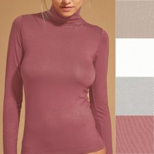 Turtleneck sweater in Viscose EcoMicrofiber