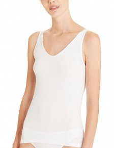 V-neck Biocotton top in 100% organic cotton
