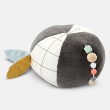Activity Ball Panda in organic cotton