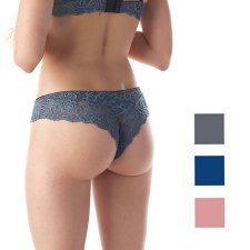 Brazilian Briefs with Lace in Modal and Cotton