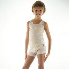 Boy tank top in organic cotton 2pcs