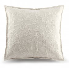 Flower Square Pillow Cover in organic cotton