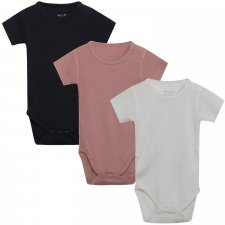 Baby Bet bodysuit  in wool and bamboo