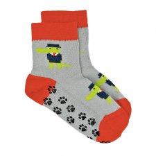 Non-slip bamboo socks for children