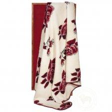 Blanket in merinos wool for double bed