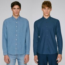 Innovates Denim Men's Shirt in organic cotton