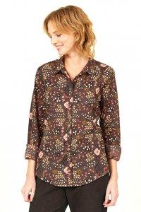Flowers Shirt in Fairtrade Cotton