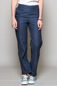 Straight leg trousers in Fairtrade Cotton