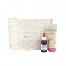 Ecobio Lover anti-aging pochette: exfoliating gel + hyaluronic acid