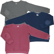 Sweathirt for children in organic cotton
