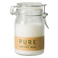 PURE NATURE candle in glass 100% coconut oil
