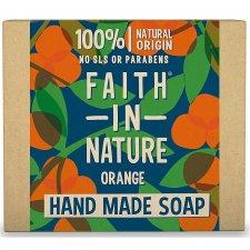 Vegan orange plastic free soap