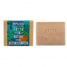 Vegan soap with plastic free COCONUT