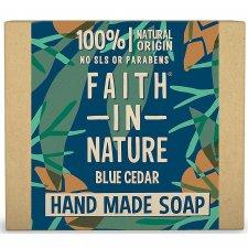 Vegan soap with plastic free CEDAR