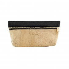 CANA cosmetic bag in Cork and recycled felt from plastic bottles