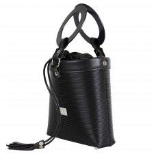 Vegan Bucket Bag in recycled pvc
