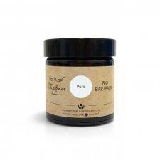 Organic vegan fragrance-free Pure Beard Balm