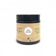 Organic vegan Mint Menthol hair modeling paste
