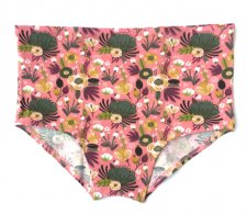 Vintage High Waisted Panty briefs size M in organic cotton