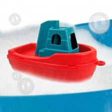 Tug-Boat boat self-sanitizing antibacterial toy