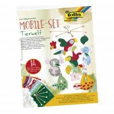 DIY animal world mobile set 14pcs